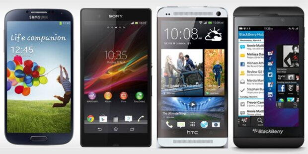 Das sind die derzeit besten Smartphones