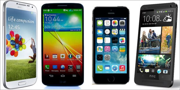 Die besten Smartphones für Weihnachten