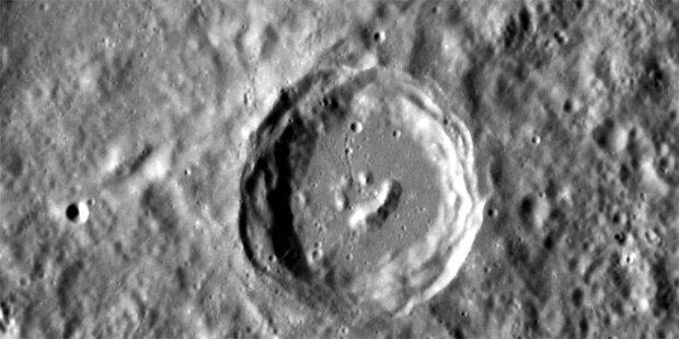 Riesiger Smiley auf dem Merkur entdeckt