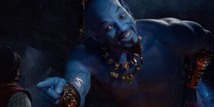 Aladdin-Film: Netz lacht über blauen Will Smith