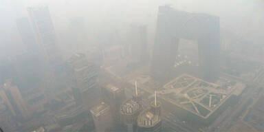 Super-Smog vergiftet wieder einmal Peking