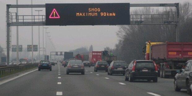 Smogalarm: Dicke Luft in Belgien