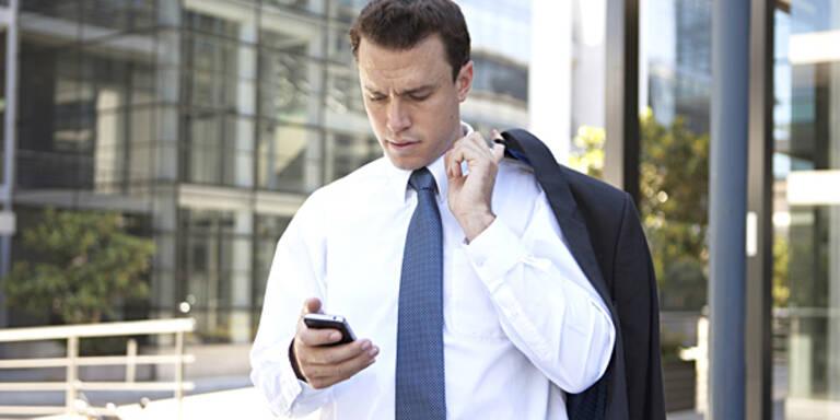 SMS-Schreiben beim Gehen ist gefährlich