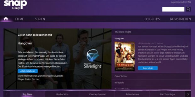 Sky startet Netflix-Gegner