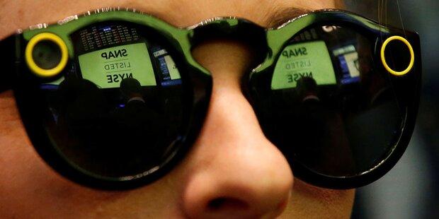Snapchat-Kamerabrille ab sofort in Europa