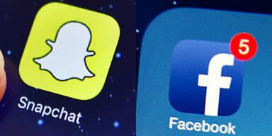 Snapchat zieht an Facebook vorbei