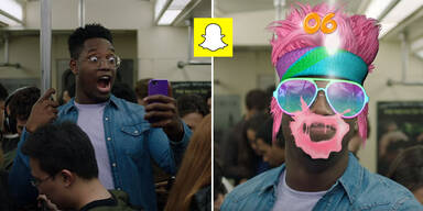Snapchat startet coole Selfie-Games