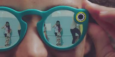 Snapchat stellte Sonnenbrille mit Kamera vor