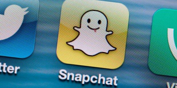 Snapchat will Bewertung von 19 Mrd. Dollar