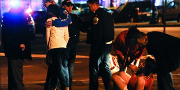 Sniper tötet 4 Menschen in Washington