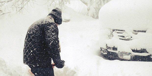 Rekord-Kälte in den USA: Vier Tote