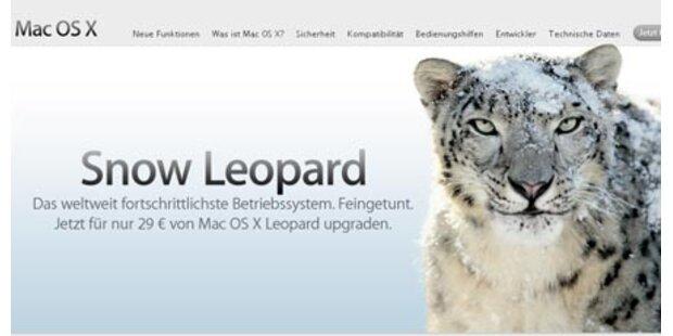 Erstes Update für Snow Leopard