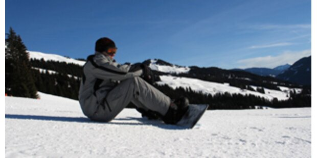 Suche nach vermisstem Snowboarder geht weiter