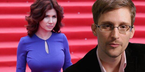 Agentin 00Sex sollte Snowden verführen
