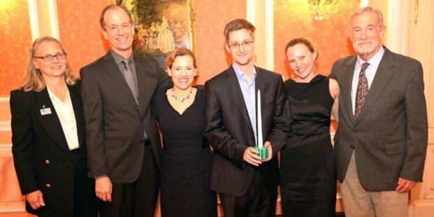 Snowden erhält Whistleblower-Preis