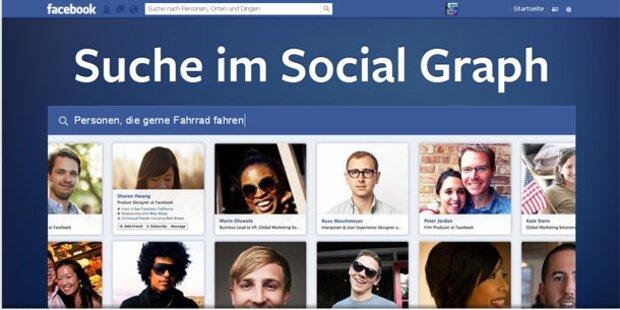 So funktioniert die neue Facebook-Suche