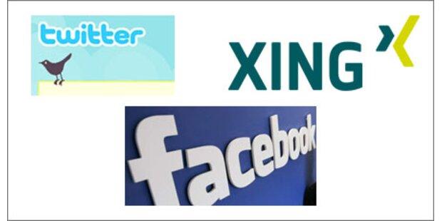 Facebook & Co. auch in US-Firmen tabu