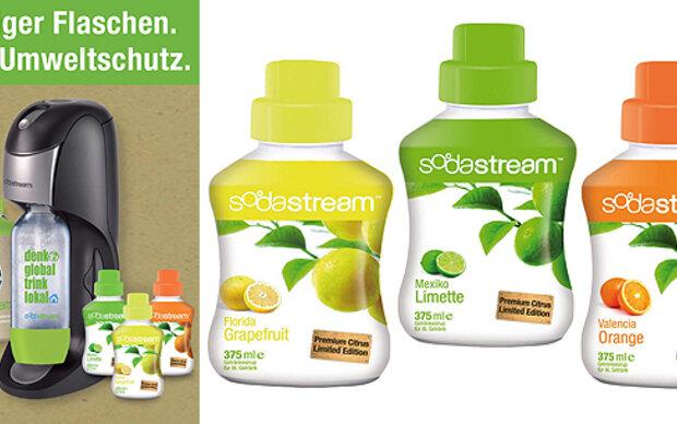 Weniger Flaschen. Mehr Umweltschutz!