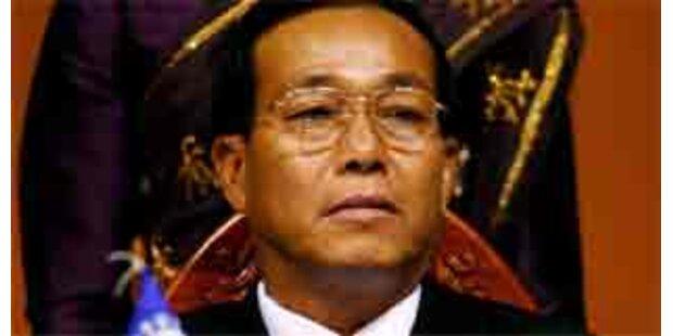 Burmesischer Premier gestorben
