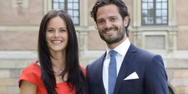 Sofia Hellqvist, Prinz Carl Philip von Schweden