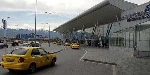 Bombe am Flughafen Sofia entdeckt