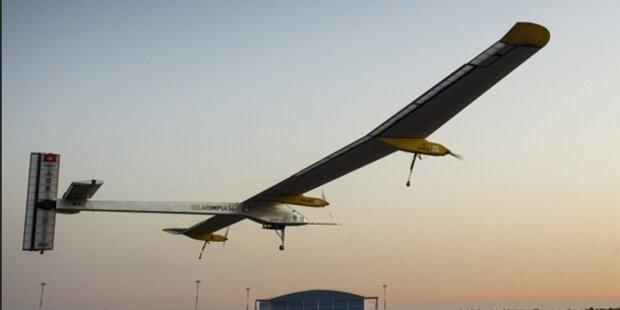 Solar-Flieger: 6.000 Kilometer ohne Treibstoff