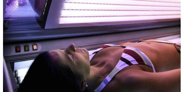 Höchste Hautkrebsgefahr durch Solarien