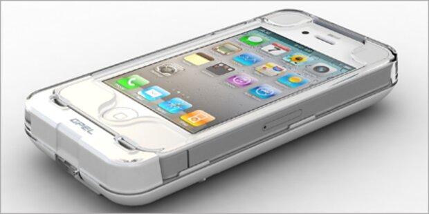 Solarzellen-Pack für das iPhone 4