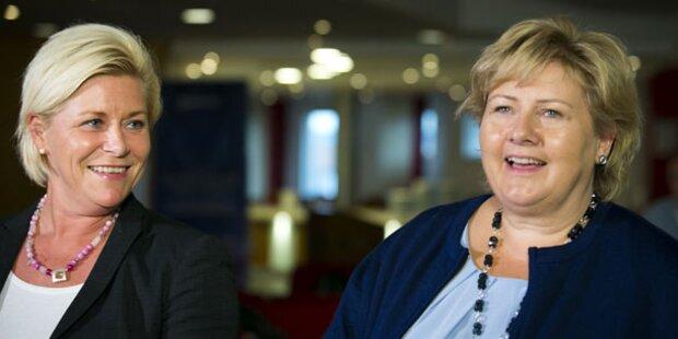 Norwegen: Rechte Koalition fix