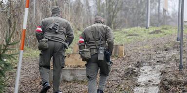 Soldaten Grenzeinsatz Bundesheer