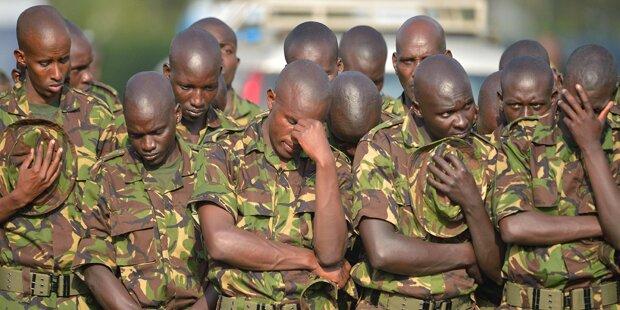 Al-Shabaab tötet 180 Friedenstruppen-Soldaten