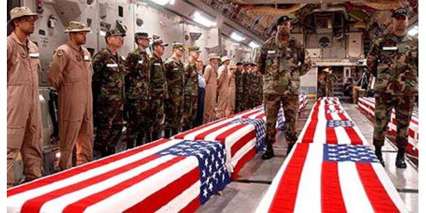 Künftig zeigen die USA ihre toten Soldaten