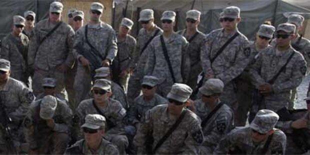 US-Militärs beklagen zu fette Soldaten