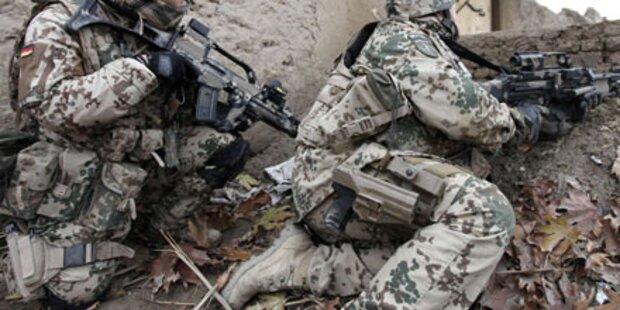 Afghanistan: 4 deutsche Soldaten getötet