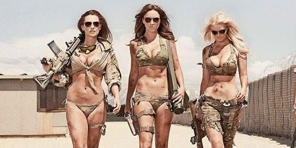 Soldatinnen Nackt