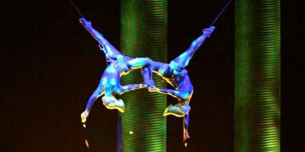 Wiener Stadthalle: Der Cirque du Soleil