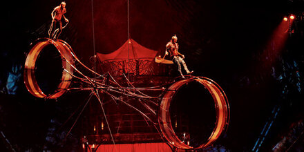 Akrobatik-Traum für eine Nacht