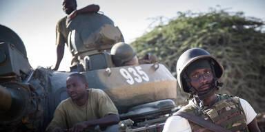 Al-Shabaab tötete Dutzende Soldaten