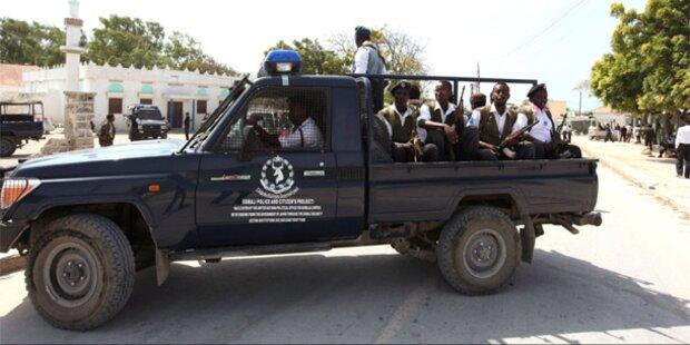 Somalia: Blutbad bei Selbstmordanschlag