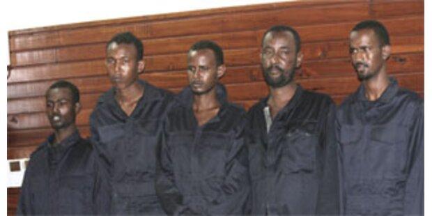 Piraten sind ehemalige somalische Soldaten