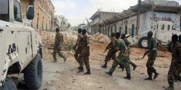 Explosionen vor Moschee in Somalia
