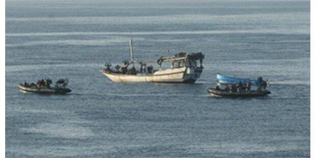 Waffen im Kampf gegen Piraten erlaubt