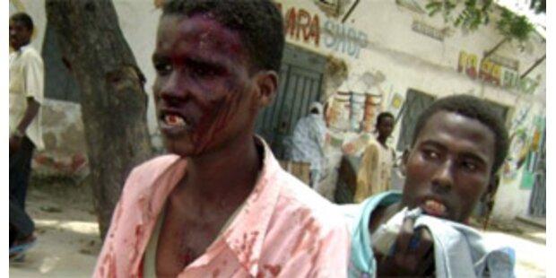 Bombenserie erschüttert Mogadischu