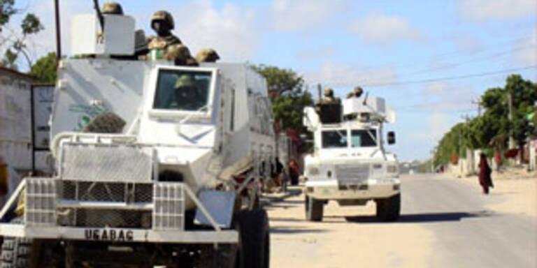 Massenflucht aus Mogadischu