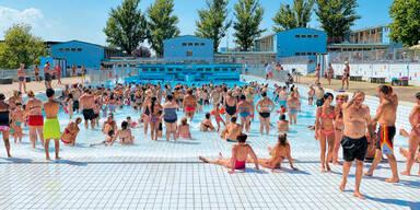 Rekord-Hitze macht Sommerpause