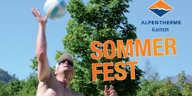 Sommerfest in der Alpentherme Gastein