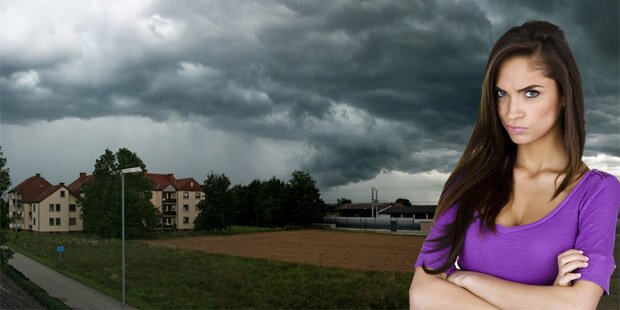 Kaltfront bringt Regenschauer