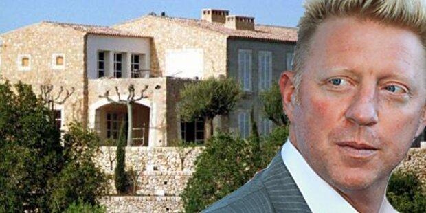 Becker: Villa gepfändet wegen Schulden