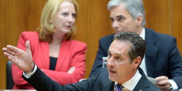 Heftige Debatte bei Parlaments-Sitzung