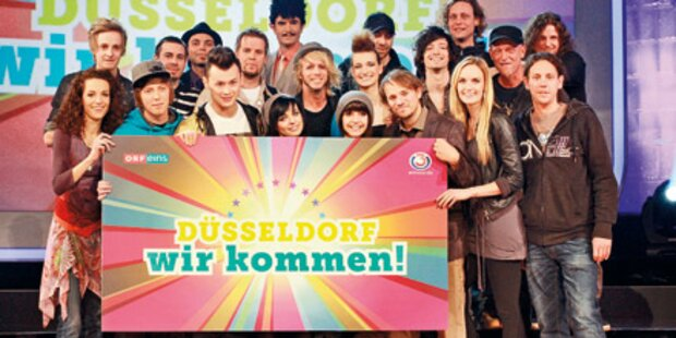 Song Contest: Nerven-Flattern vorm Finale